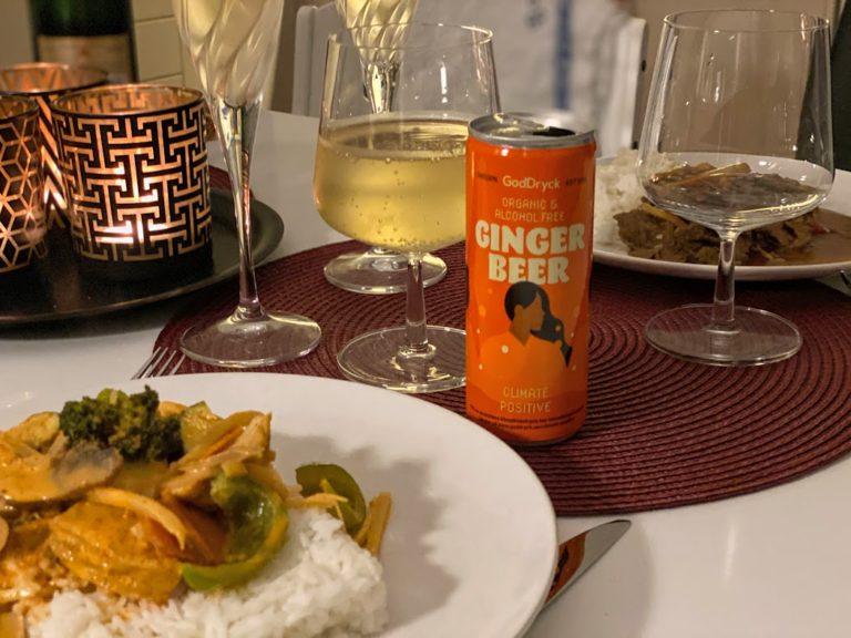Goddryck Ginger beer thaimat