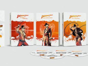 Indiana Jones Box UHD 4K box 2021