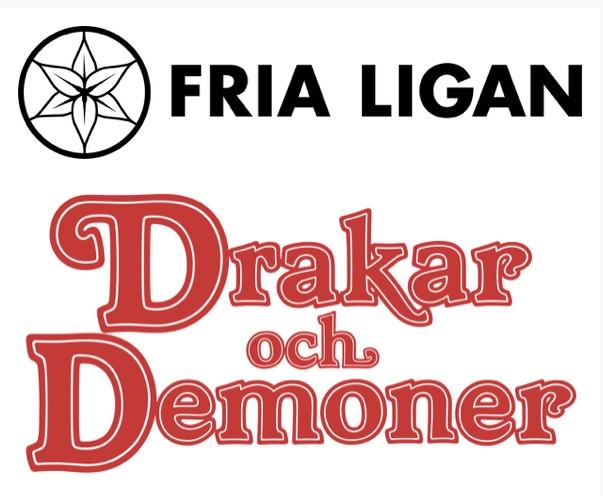 fria ligan drakar och demoner
